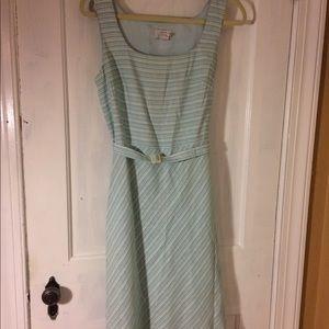 Ann Taylor Loft A line linen dress